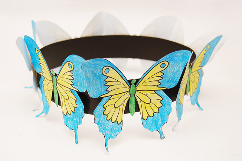 Kid's Crafts: Butterfly Patterns